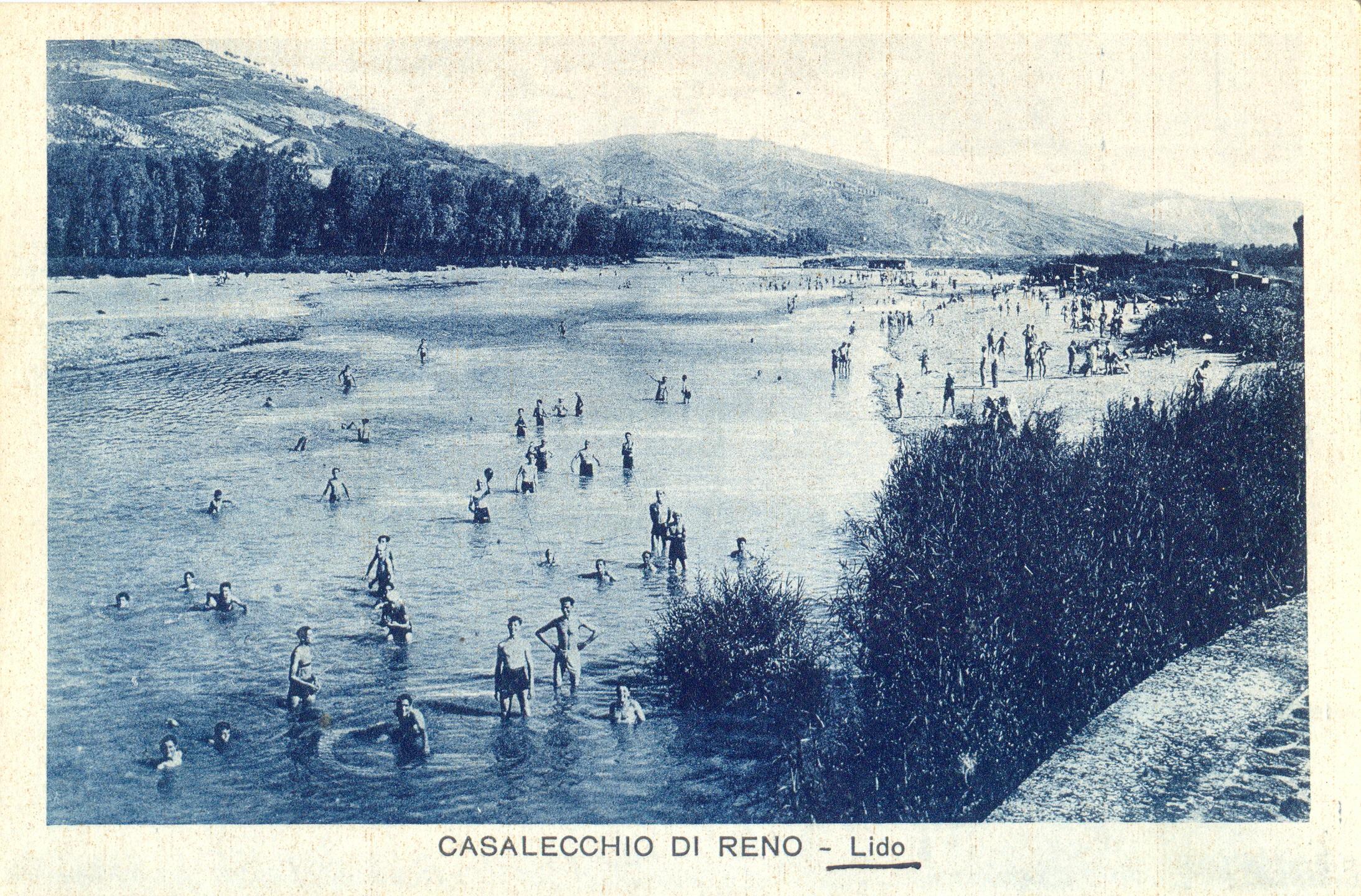 Lido di Casalecchio nel 1930