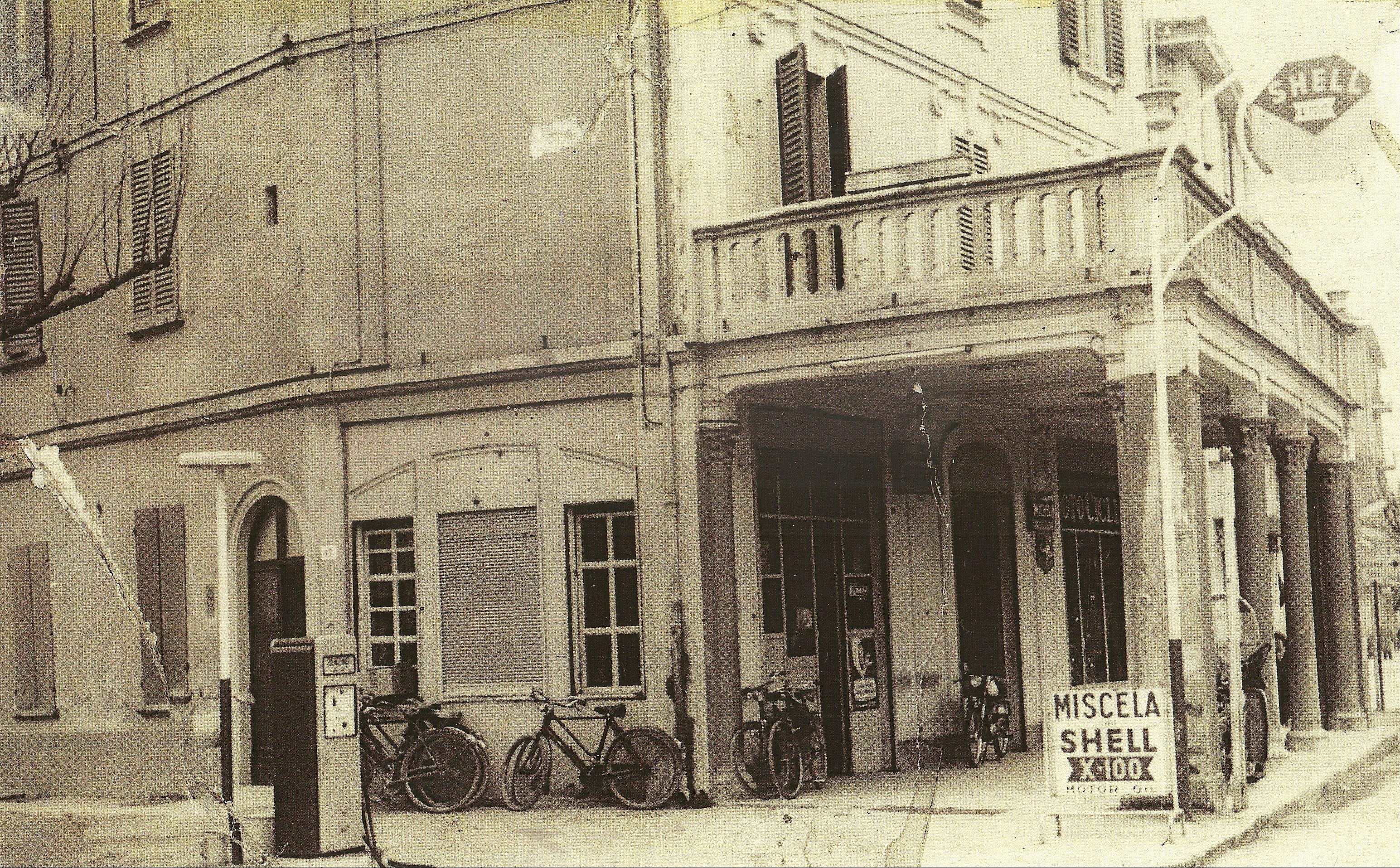 Il negozio di biciclette e motociclette di Adriano Vignoli