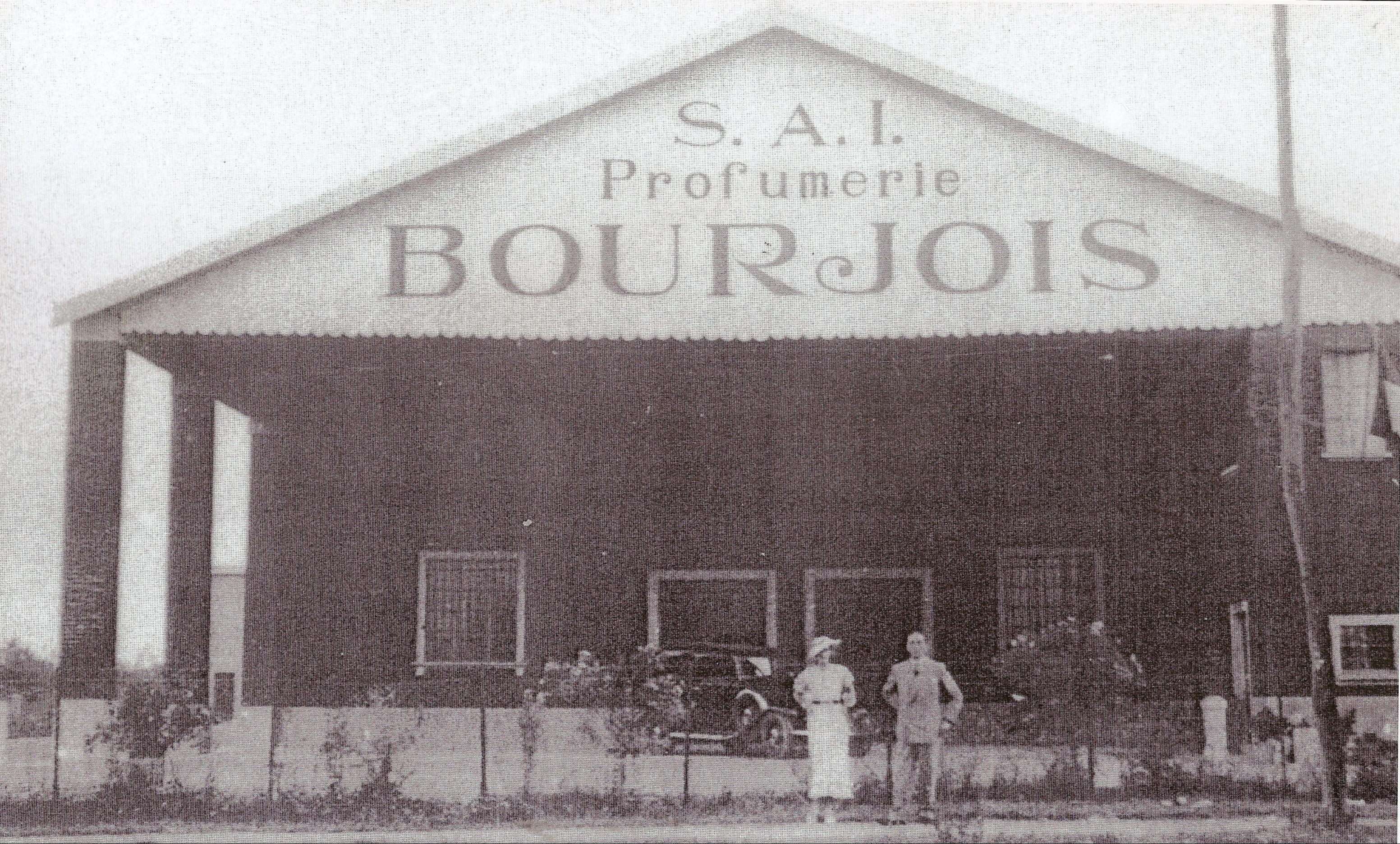 Stabilimento Bourjois inizio anni 30
