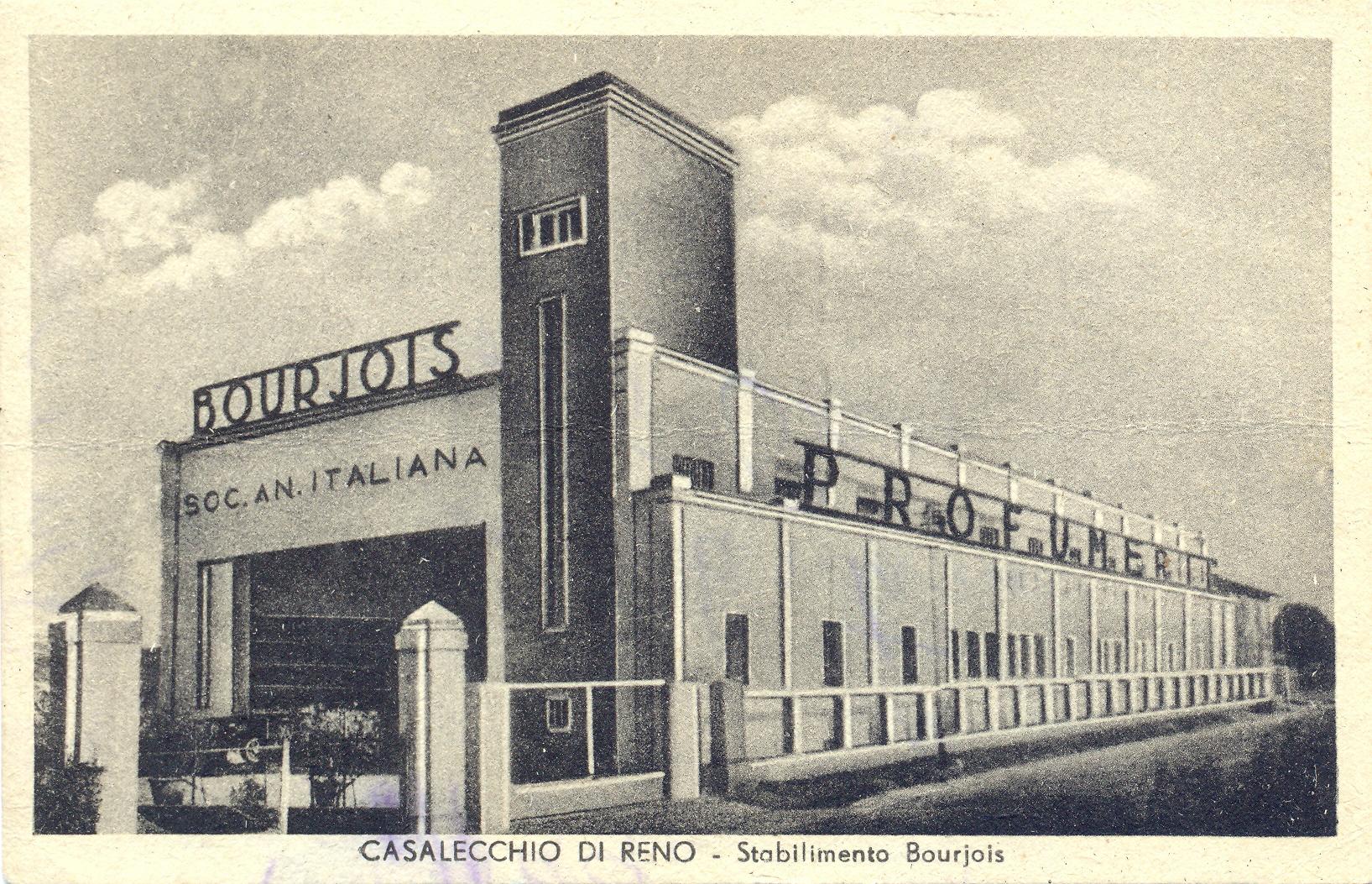 Stabilimento Bourjois fine anni 30