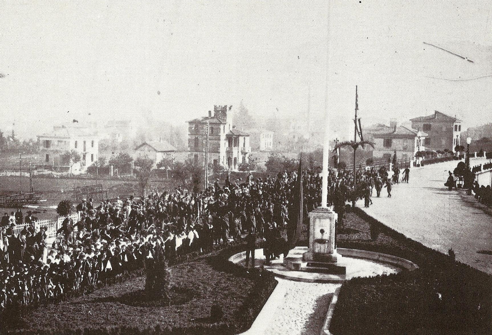 Inaugurazione Cavalcavia 28 ottobre 1933