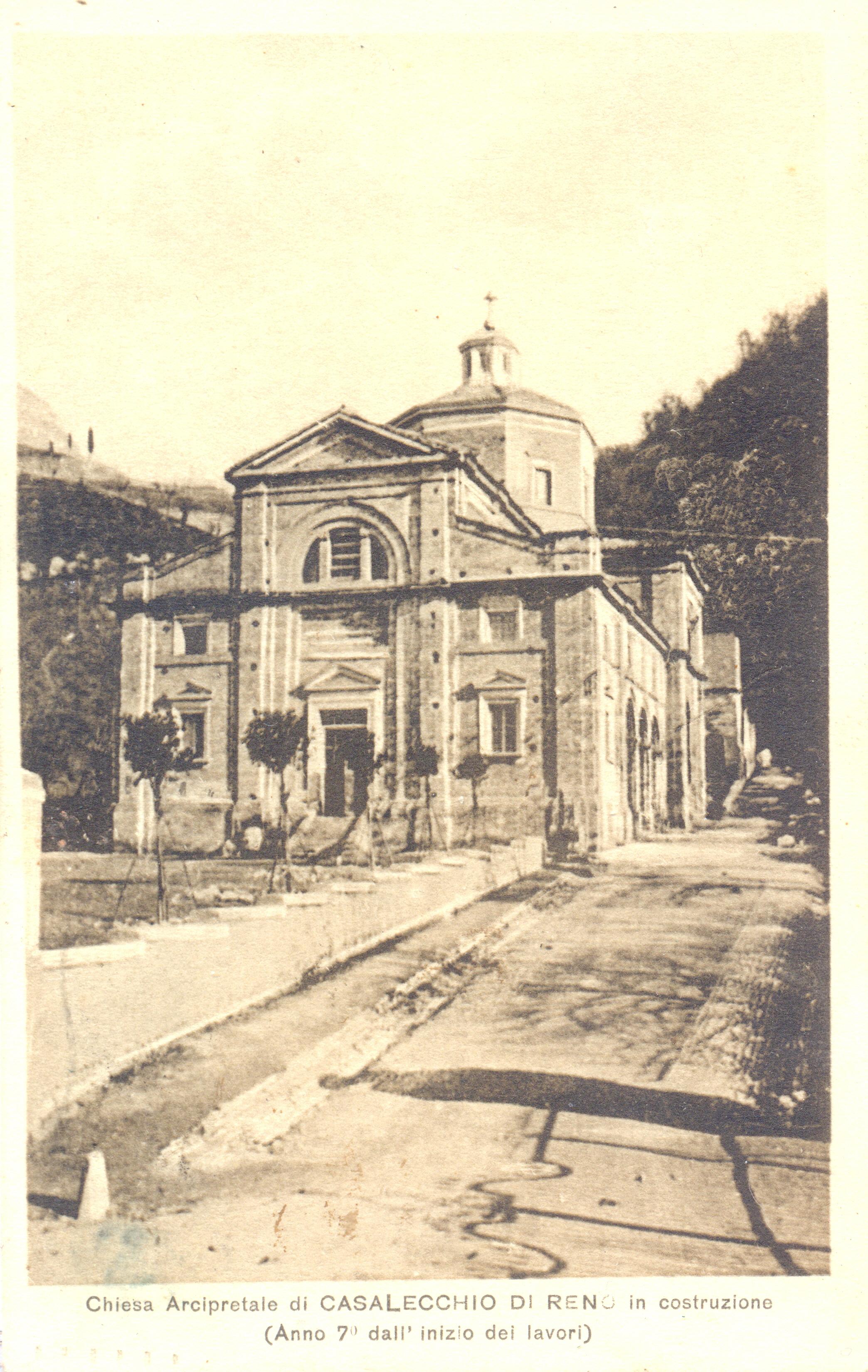 Chiesa S.Martino al 7° anno dopo l'inizio della costruzione