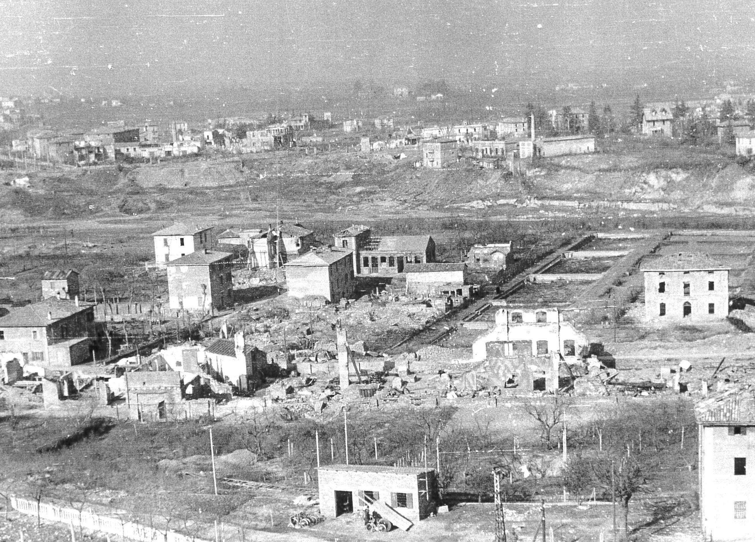 Cirenaica dopo il bombardamento