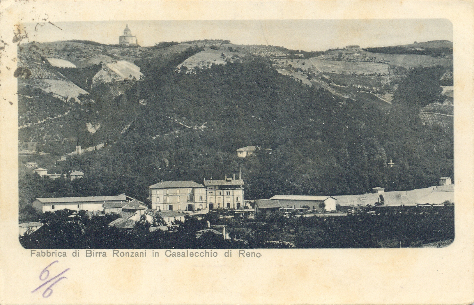 La Birreria Ronzani a Casalecchio di Reno (Archivio fotografico Biblioteca C. Pavese)