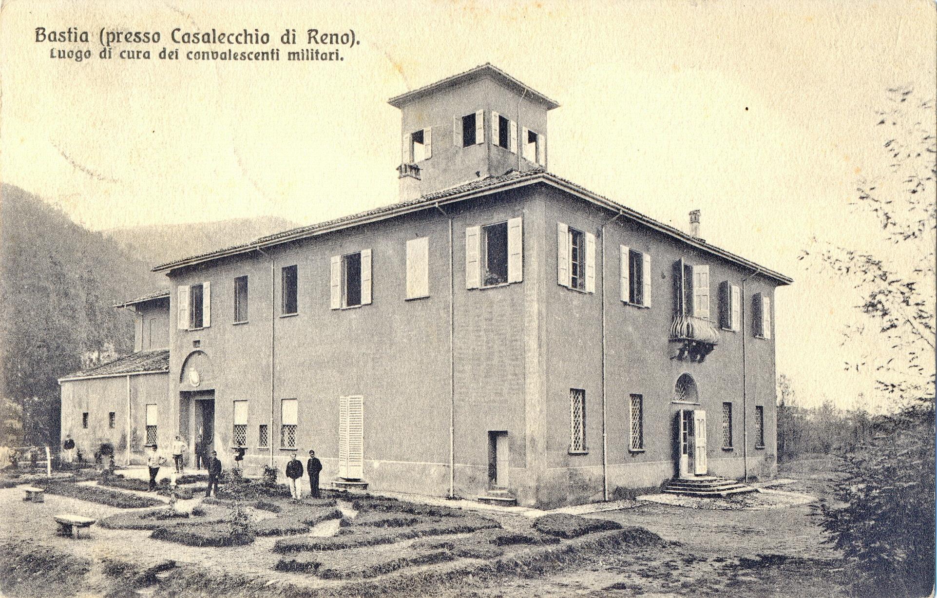 La Bastia, convalescenziario militare