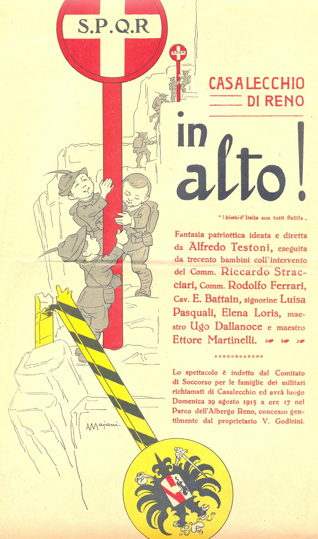 """Locandina di """"In alto! I bimbi d'Italia son tutti balilla"""""""