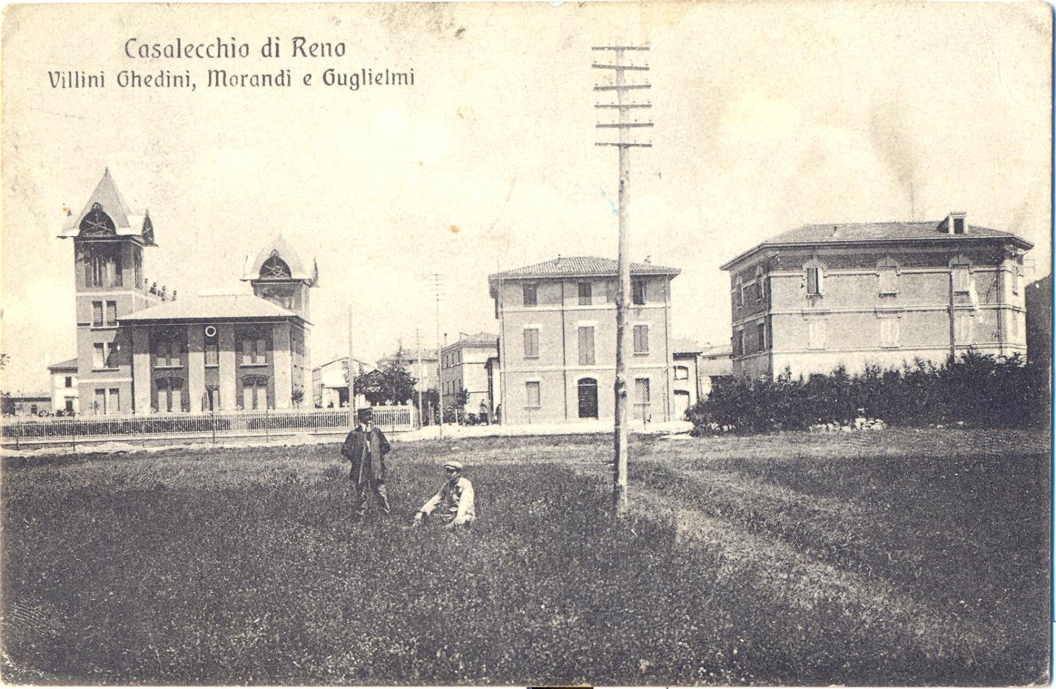 La sede del Commissario Prefettizio di Susegana a Casalecchio