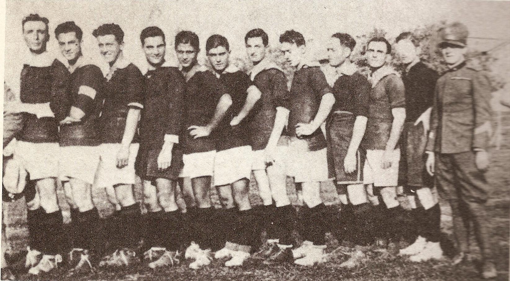 Una formazione del 1923/24 della S.S.Casalecchio
