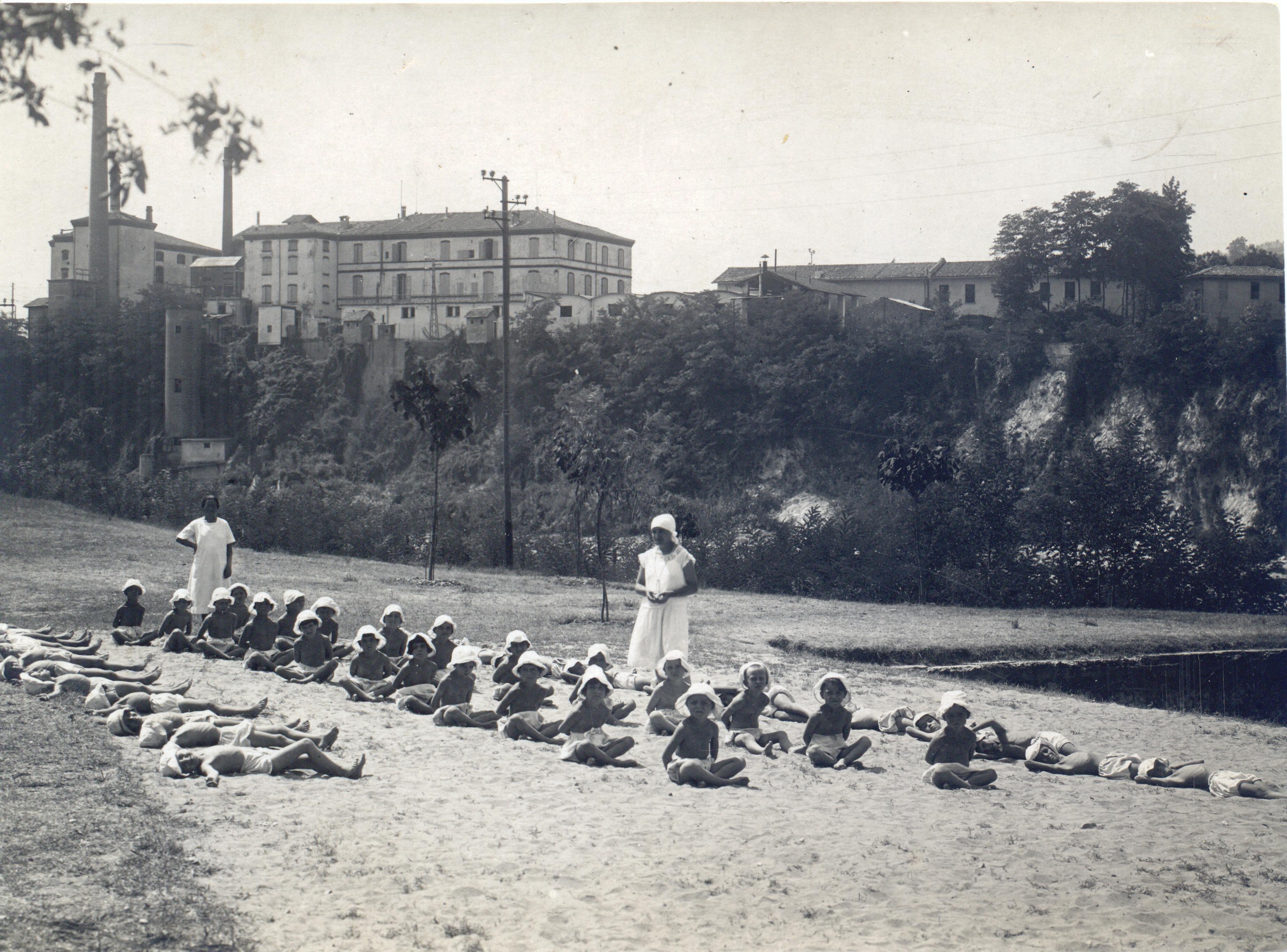 Casa del Sole, anni'30, bagni di sole