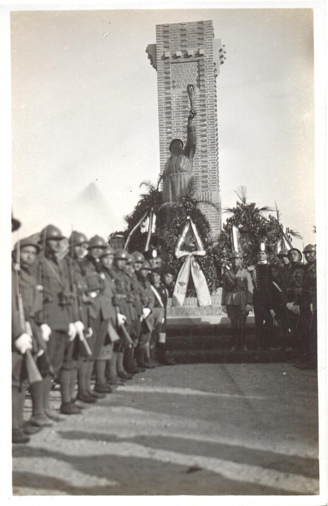 Picchetto d'onore dei militari