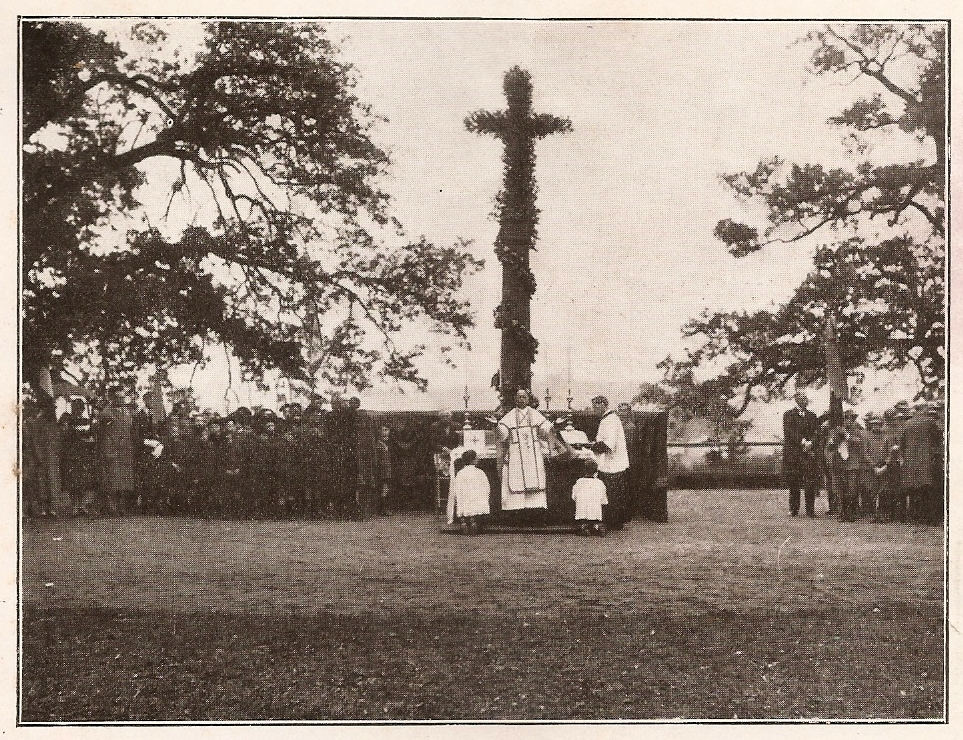 Festa degli alberi - messa e benedizione Don Ercolani