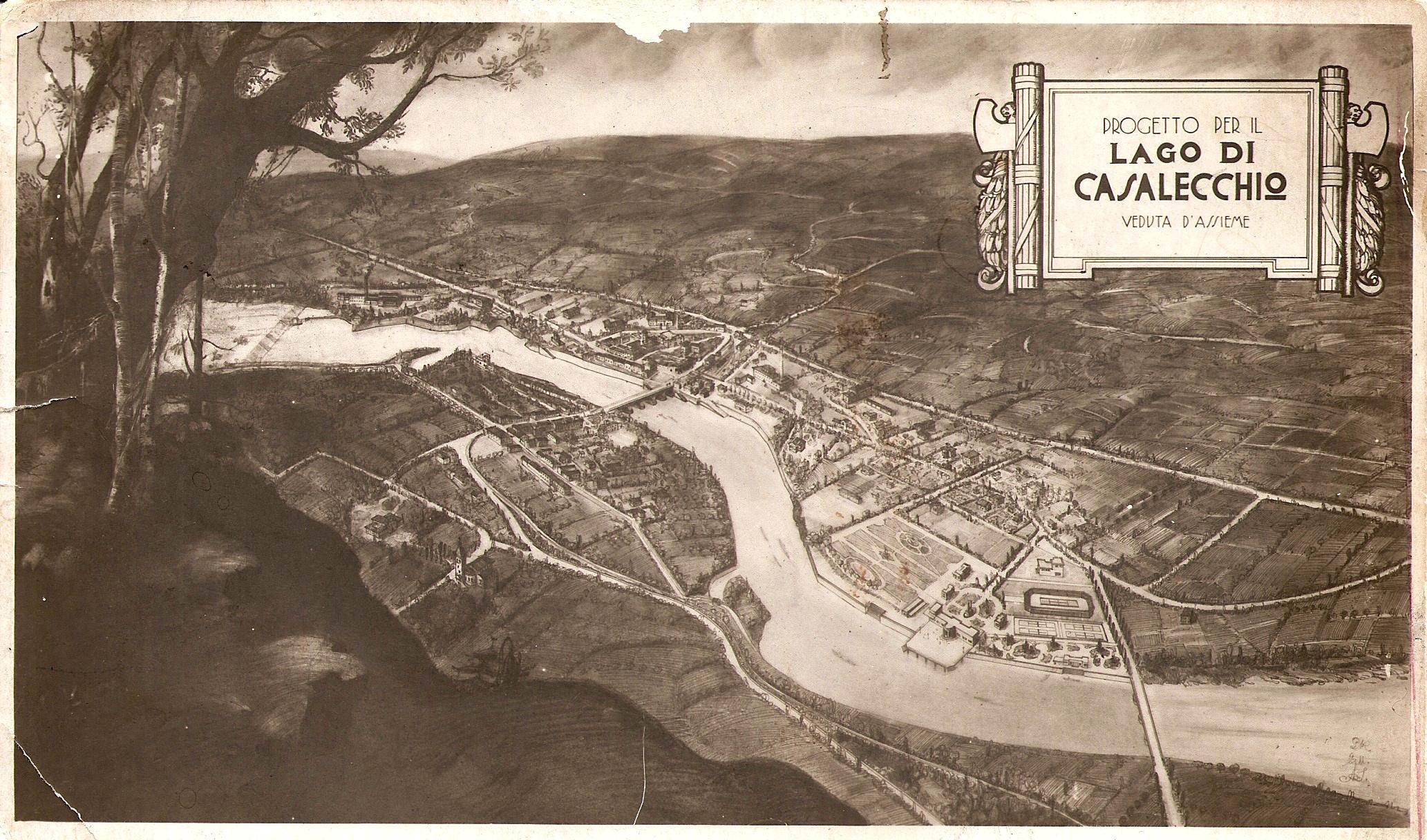 Il lago di Casalecchio