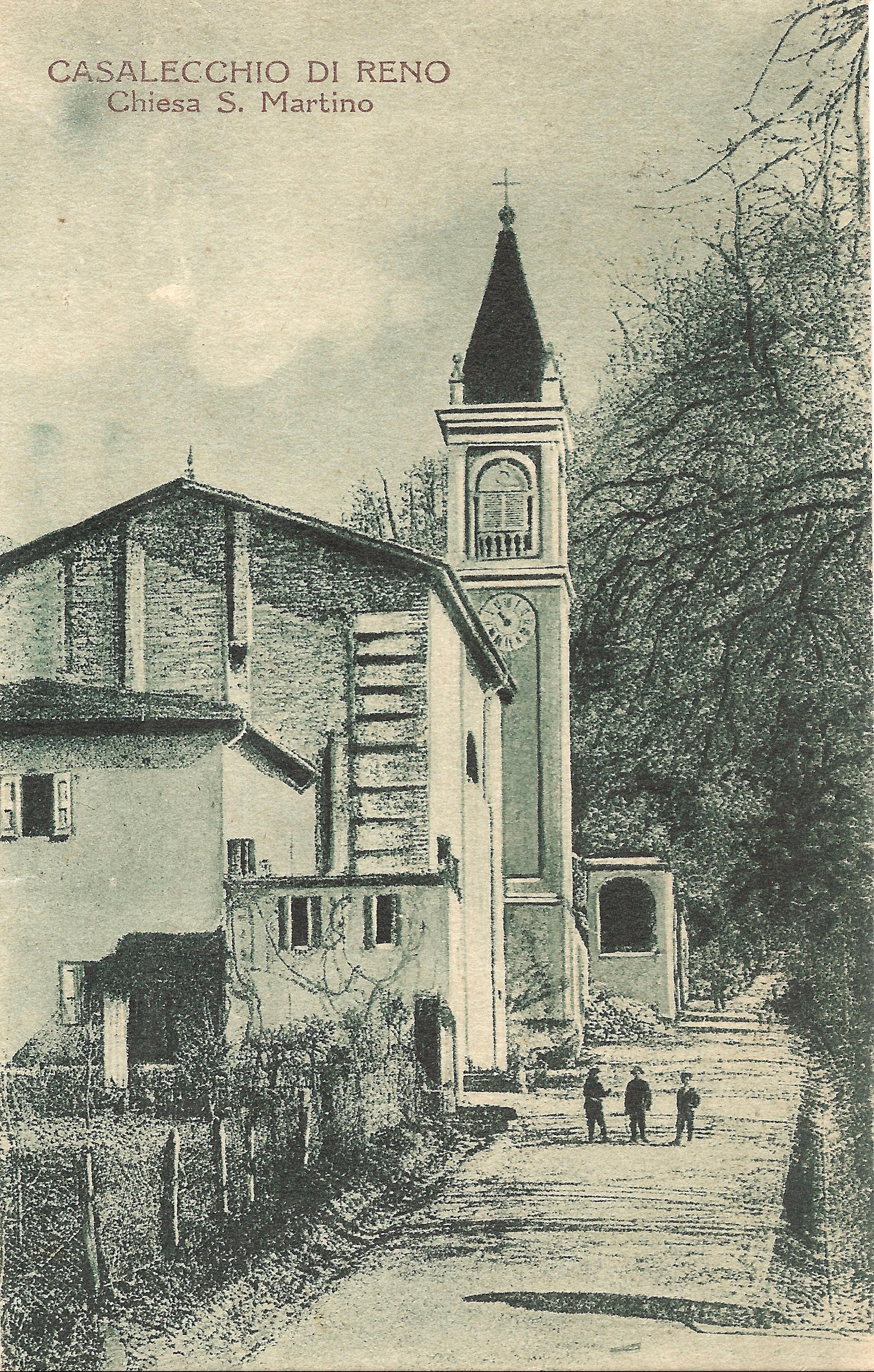Chiesa di S. Martino inizio '900