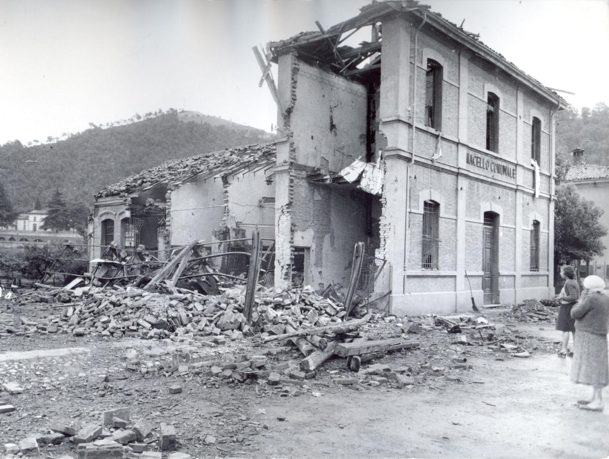 Il macello comunale alla conclusione della guerra